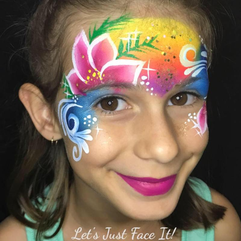 Let's Just Face It Face Painting Mackay. Google. Moana Design